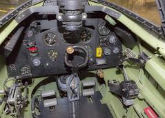 Spitfire Cockpit (dawsonimages) Tags: spitfire cockpit fighterplane aeroplane ww2 joystick controls rafhendon