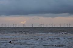 Wind farm off Spurn Head (mike_j's photos) Tags: spurn head point humber river humberside