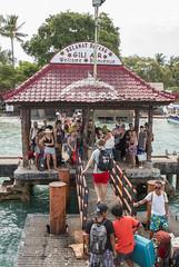 Welcome to Gili Air (HansPermana) Tags: lombok indonesia pulau island holiday tropical tourists people crowds crowded water sea