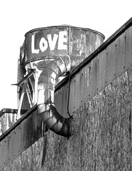 love pipe (PDKImages) Tags: pussy clown street sheffield art broken windows cat sloth horror goth abandoned stairs girl beauty love industrial contrasts coffin