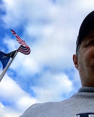 Accidental selfie! Apparently my iPhone decided to shoot a photo, which it sometimes does (by accident). This was one... Thought it was pretty cool so saved it! #accidentalselfie #sumoflamselfie #roadtrip @redrivergorgeky #kytourism #surpriseselfie