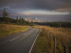 Winter setting in. (foto.pro) Tags: wales snowdonia national park road moorland hills mountains snow cold weather