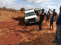 Accident in Tsavo National park