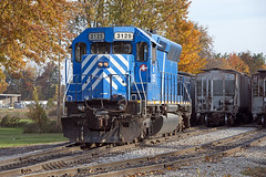 New Power Now In Service (Troy Strane) Tags: sd45 southernpacific indiana northeastern reading michigan andersons grain fortwaynejackson nyc nikon d800 autumn fall