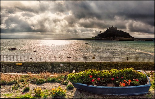 Rain Clouds Over St. Michael's Mount