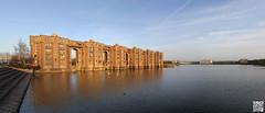 Le viaduc (Alex..H) Tags: ricardobofill architecte architecture france batiment vuaduc bassin eau water lac sourderie montigny 78 sqy saintquentin