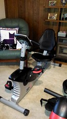 New Recumbent exercise bike
