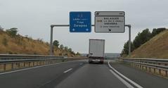 A-2-40 (European Roads) Tags: a2 trrega bellpuig mollerussa lleida catalunya espaa autova