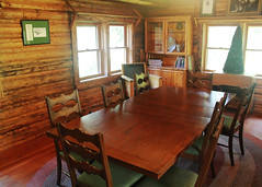 The table awaits (RPahre) Tags: table diningroom holiday thanksgiving murieranch grandtetonnationalpark wilderness irony robertpahrephotography copyrighted donotusewithoutwrittenpermission