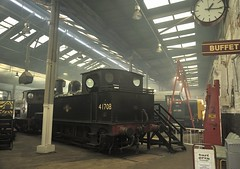 Inside the Roundhouse (martin 65) Tags: barrow barrowhill hill rail railways railway trains train derbyshire chesterfield public preserved preservation 41708