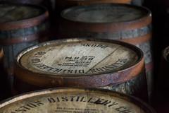 Filled Scotch Barrels at Deanston (IceNineJon) Tags: unitedkingdom scotland stirlingshire greatbritain deanston photography canon5dmarkiii europe deanstondistillery stirling 5dm3 britain burnstewartdistillerslimited uk whisky scotch distillery alcohol booze barrel wood factory manufacturer