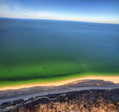 Long Island Sound (milfodd) Tags: november 2016 aerialphotography quadcopter dji phantom3pro drone longisland ptgui singlerawhdr longislandsound beach