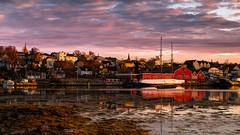 Maritime Adventures (carolina_sky) Tags: novascotia lunenburg atlantic maritimes canada fishing village sunrise bluenoseii sail ocean port coast pentaxk1 pentax2470mm pixelshift
