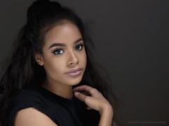 Onzia (modulationmike) Tags: studio beauty model female dark lighing eyes makeup skin flawless triflector lastolite nikon sigma