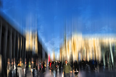 Inception (eggii) Tags: stuttgart germany street city inception trip blur icm effect people
