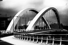 Pont Raymond Barre (Lyon) (prodicio) Tags: lyon puente bridge sylverefexpro samsungnx1000 bw