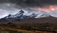 Cloud painting (lawrencecornell25) Tags: landscape skye isleofskye scotland scenery mountains sligachan sgurrnangillean sunset nature outdoors nikond5