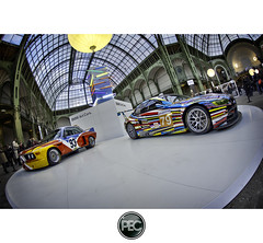 BMW Art Cars - Tour Auto 2012 Grand Palais Paris (_PEC_) Tags: auto park paris art cars car photoshop canon photo automobile pix 2000 photographie tour image picture grand pic voiture coche bmw carro palais 5d  hdr 2012 optic mark2  pec 599 machina 2011   s   worldcars q 5dmarkii ch  ling oloneo shn jidousha