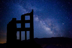 Milky Way (dennisbehm) Tags: canon stars nevada nopeople rhyolite milkyway colorimage