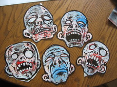 saturday handstyles (andres musta) Tags: art sticker stickerart zombie stickers squad andres zas musta