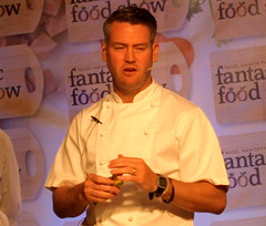 Chef Colin McGurran at Nigel Haworth's Fantastic Food Show - 10 (Tony Worrall Foto) Tags: show uk england food man celebrity cooking make festival fun demo northwest north restaurants tasty eaten blackburn event chef taste venue celeb nigel michelin reviews eatingout foodie asl chefs haworth lancs foodphotography taster celebritychefs 2013tonyworrall colinmcgurran