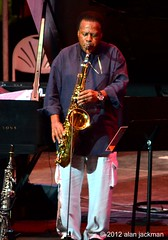 Wayne Shorter, Wayne Shorter Quartet featuring Danilo Perez, John Patitucci, and Brian Blade, 2012 Detroit Jazz Festival (jackman on jazz) Tags: detroit tenorsax wayneshorter wayneshorterquartet detroitjazzfestival detroitinternationaljazzfestival d7000 nikond7000 jackmanonjazz alanjackman michigandetroitjazzjazzfestival