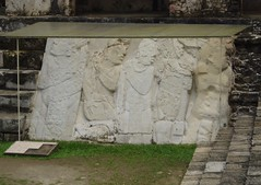 Mayan Warriors, Palenque (Aidan McRae Thomson) Tags: sculpture mexico ancient ruins relief mayan palenque chiapas basrelief