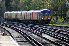 IMG_5895 (Colin.P.Brooks Railway Photography & Frinton) Tags: surbiton emu southwesttrains swt electricmultipleunit class455 monday29thapril2013