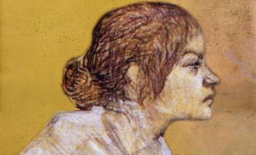 "Las Madeleines escuchando la soleada soledad, descripciones de Henri de Toulouse Lautrec (1889) y Pablo Picasso (1904). • <a style=""font-size:0.8em;"" href=""http://www.flickr.com/photos/30735181@N00/8815717408/"" target=""_blank"">View on Flickr</a>"