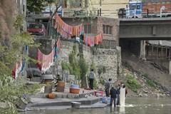 IND-153 Srinagar, Jhelum River, Dyers (FO Travel) Tags: india asia asien asie indien inde