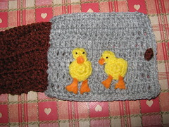 Old MacDonald Ducklings (Lemming13) Tags: afghan amigurumi