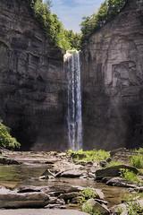 Taughannock Falls (Deganizer) Tags: park new york nature water state finger lakes falls waterfalls western region hdr taughannock degan