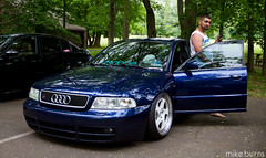 Dez's S4 (Mike Burns Photography) Tags: euro german b5 audi s4 boosted tmb bagged stanced rotiform