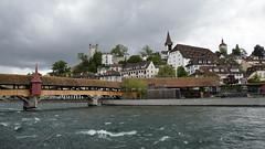 Spreuerbrücke (Alexander Marc Eckert) Tags: bridge schweiz suisse luzern svizzera lucerne lucerna reuss innerschweiz zentralschweiz centralswitzerland swizzerland riverreuss kantonluzern svizzeracentrale suissecentrale luzernstadt flussreuss spreuerbridgespreuerbrückespreuer brückespreuer
