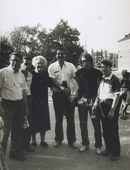 Mary Ellen Rudin at a Conference in Prague 1991 (ali eminov) Tags: friends prague mathematics colleagues conferences mathematicians topologists marryellenrudin