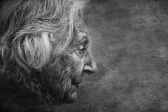 Lady Grey (Peter Schlyter) Tags: street portrait blackandwhite bw streetphotography peterschlyter