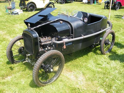 A4 - 1923 Austin Seven Works Team Car (Boulogne Racer) [replica]