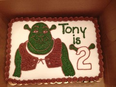 Shrek Cake, Triad Area, NC, www.birthdaycakes4free.com