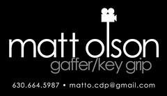 Matt Olson Business Card