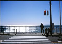 1267100-17 (kimamaph) Tags: street leica film beach kamakura 40mm crosswalk m6 rdp3