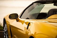 Corvette (Linda Allard) Tags: auto jaune nikon voiture corvette autosport voituresport lindaallard corvette2012