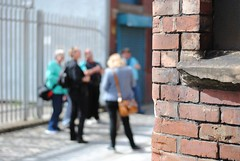 Looming around Loom Street (zawtowers) Tags: street people manchester 50mm flickr afternoon dof bokeh sunday away august hidden cotton area names 18 stroll meet loom fifty manchesteruk ancoats flickrgroups 2013 afsnikkor50mmf18g