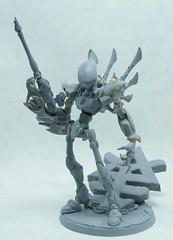 Wraithlord wip (Rae7766) Tags: wip figure warhammer eldar posable wraithlord