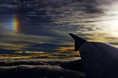 Indigo A320 VT-IEW (Aiel) Tags: sunset wings rainbow bangalore indigo monsoon airbus trivandrum a320 blr a320232 thiruananthapuram vobl vtiew wingfences