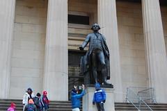 Statue of George Washington (koborin) Tags: nyc newyorkcity travel ny newyork statue downtown manhattan financialdistrict wallstreet georgewashington lowermanhattan federalhall federalhallnationalmemorial statueofgeorgewashington