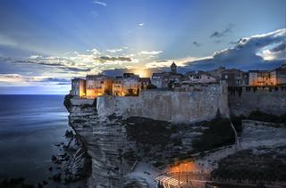 Corse Ville de Bonifacio - Corse France