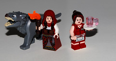 Red Riding Hood Ruby (Mr.Savath_Bunny) Tags: white snow toys gold lego time magic emma adventure fantasy belle abc once hook charming upon minifigure stroy rumpelstiltskin ouat vision:people=099 vision:face=099 vision:groupshot=099