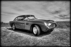 1962 Aston Martin DB4 (Geoff Trotter) Tags: old christchurch blackandwhite art monochrome canon martin bond db4 1962 hdr aston 007 jamesbond photomatix 50d canterburynz 3exp astonmartindb4 canon50d worldhdr 1962astonmartindb4 1962astonmartin geofftrotter stunningphotogpin