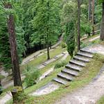 Garmisch - Parkanlage Sankt Anton (1) - Kreuz und quer treppauf, treppab ... thumbnail