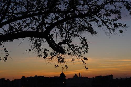 Sunset on Paris